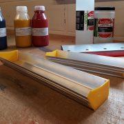 Emulsion Coating Trough 2 sizes