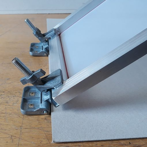 Hinged Clamps for screen printing