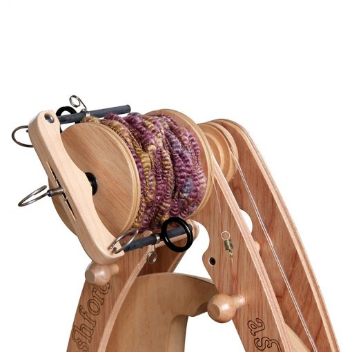 Ashford Freedom Flyer on Joy Spinning Wheel