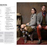 Index page Interweave Knits Magazine - Fall 2018