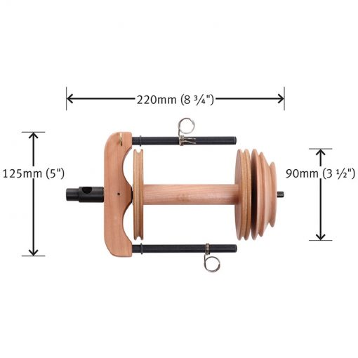 Ashford Kiwi Sliding Hook Flyer dimensions