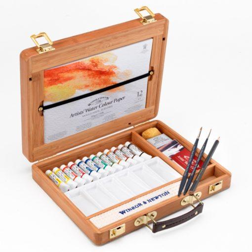 Winsor & Newton Professional Water Colour Tube Bamboo Box
