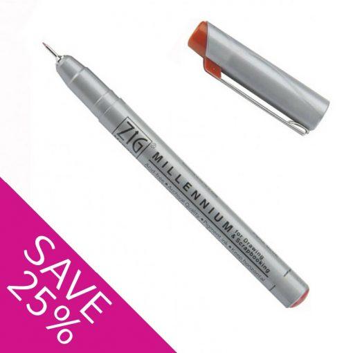 Kuretake ZIG Millennium Pens - Pure Brown