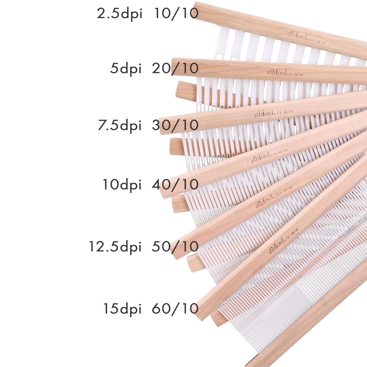 Ashford Rigid Heddle Loom Reed 16 inch 7.5dpi