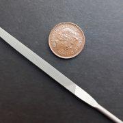 16cm half round needle file