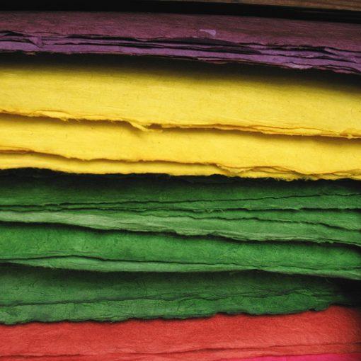 Lokta Handmade Paper - Colours