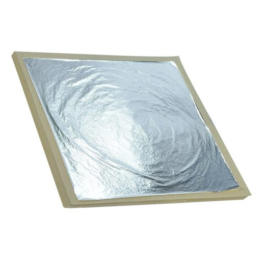 Silver Leaf Book 25 Thick Loose Leaves 95 x 95mm
