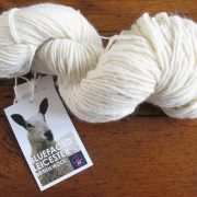 Bluefaced Leicester Natural Ecru Roving Yarn