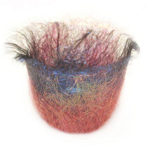 Heat fusible fibres