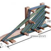 Ashford Inkle Loom dimensions