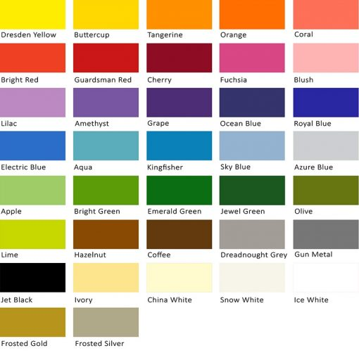 Canford Craft Paper colours 150gsm, size A1