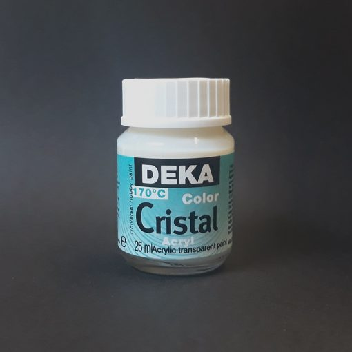 Clear Deka Cristal Glass Paint
