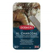 Tin of Derwent XL Charcoal Blocks