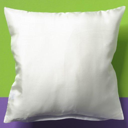 39cm White Silk Cushion Cover