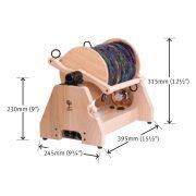 Ashford e-Spinner Super Jumbo dimensions