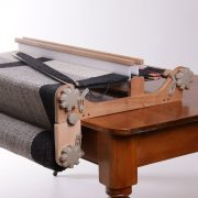 Pick Up Sticks on the loom