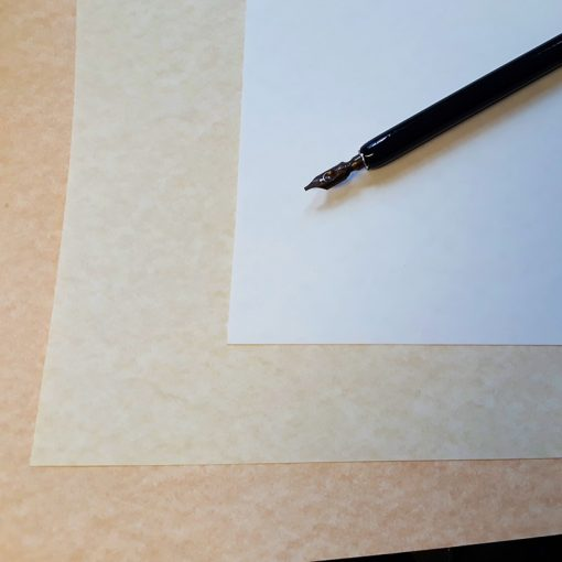 Italic Parchment Paper for calligraphy
