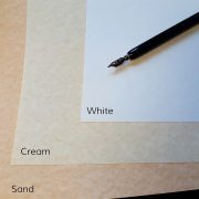 Italic Parchment Paper for certificates