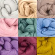 Wool for Feltmaking Assorted colours