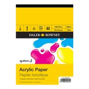 Daler Rowney System 3 Acrylic Paper Pads