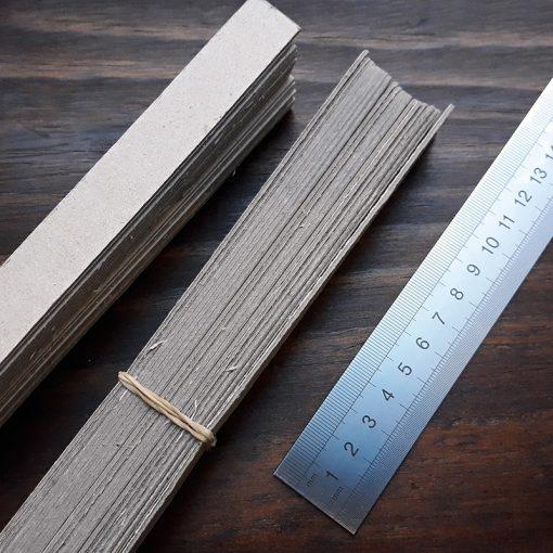 Cardboard Warping Sticks