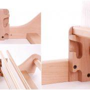Indirect Warping method on the Ashford Rigid Heddle Loom