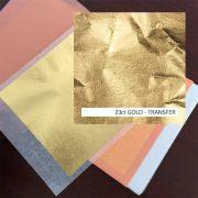 23ct Gold Leaf Transfer Book 25 for gilding