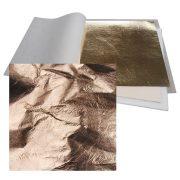 Premium Imitation Metal Leaf Copper Loose: 140 x 140mm Book