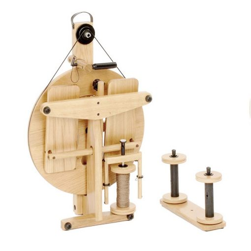 Louet Victoria S95 Spinning Wheel folded