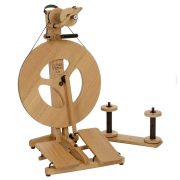 Louet Victoria S96 Spinning Wheel made from oak