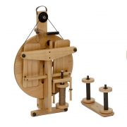 Louet Victoria S96 Spinning Wheel folded