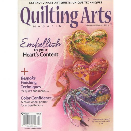 Quilting Arts Magazine - February / March 2019