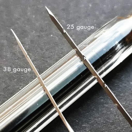 Close up of Felting needles