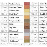 21g Pearl Ex pigment colours