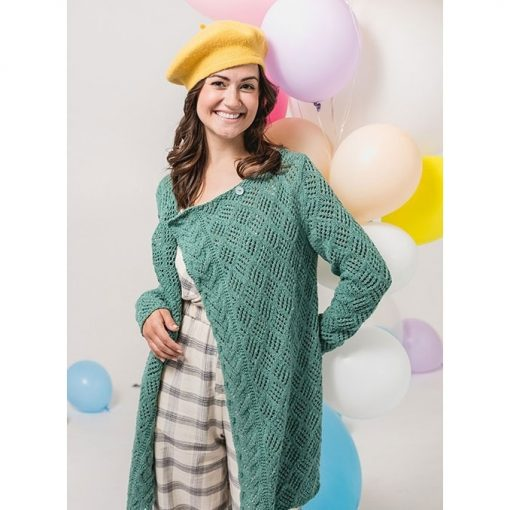 Knit the Jet Stream Cardigan