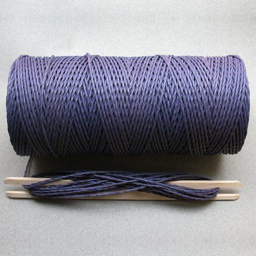 Purple Paper Yarn 2/3.5mm 1kg