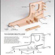 Diagram of inklette loom
