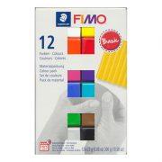 12 x 25g blocks FIMO polymer clay