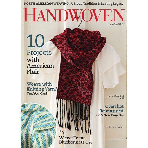 Handwoven Magazine March / April 2019
