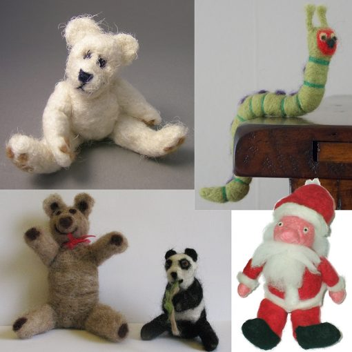 Examples of Needle Felting