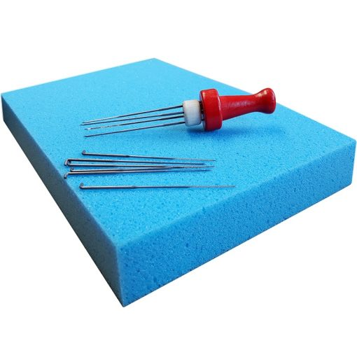 Needle Protection Pad and Felting Needle Holder