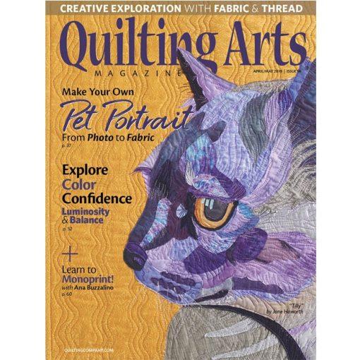 Quilting Arts Magazine - April / May 2019