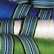 Inkle weave with 3 colours