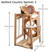 Size of Ashford Country Spinner 2