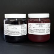 Dye wool or silk with acid dyes