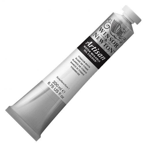 Artisan Water Mixable Oil Colours - Titanium White