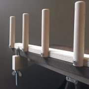 Louet Warping Posts on table