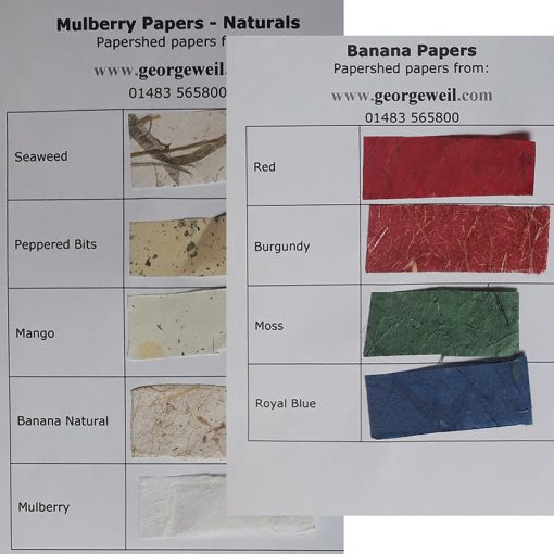 Handmade Mulberry Papers