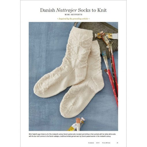 Piecework Magazine - sock pattern