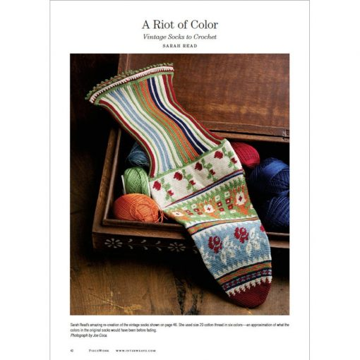 Piecework Magazine - vintage sock pattern